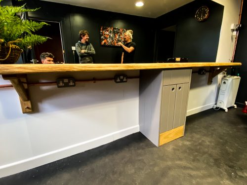 Bespoke joinery projects and shop fits